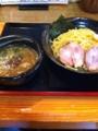 実咲庵の煮干つけ麺
