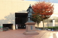 津軽為信公の銅像