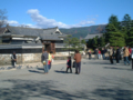 松本城黒門