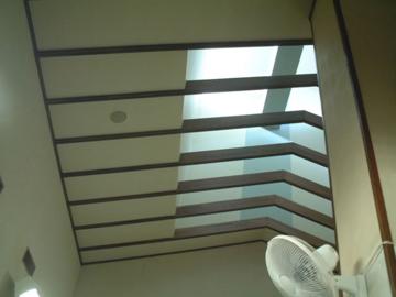 ゆーぷる木崎湖の天井