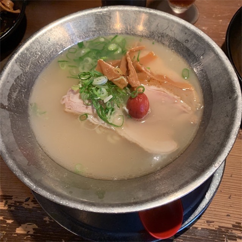 鯛塩らーめんの太麺