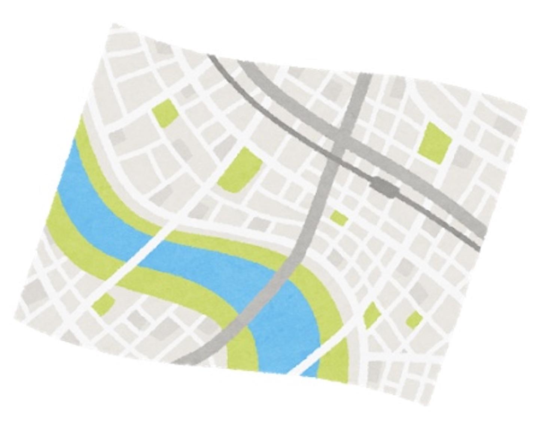 ハザードマップのイメージ