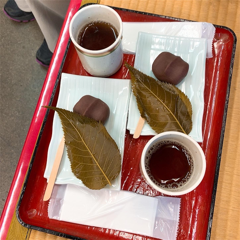 茶房さくらの桜餅