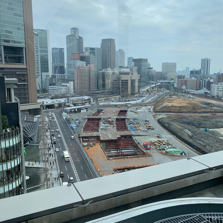 建設中の北梅田新駅