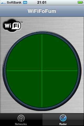 WiFiFoFumの画面