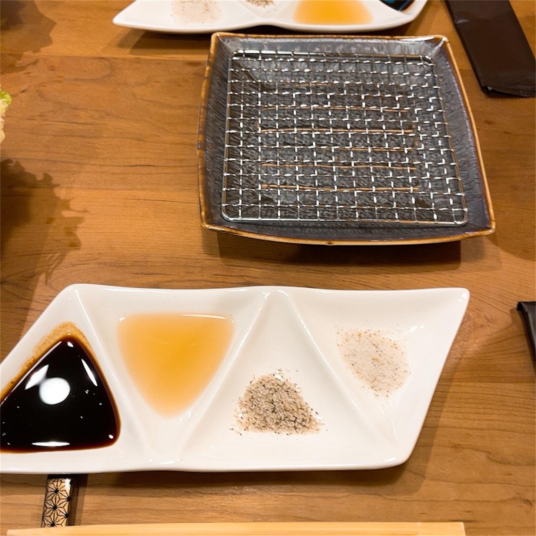 大西清かつのテーブル