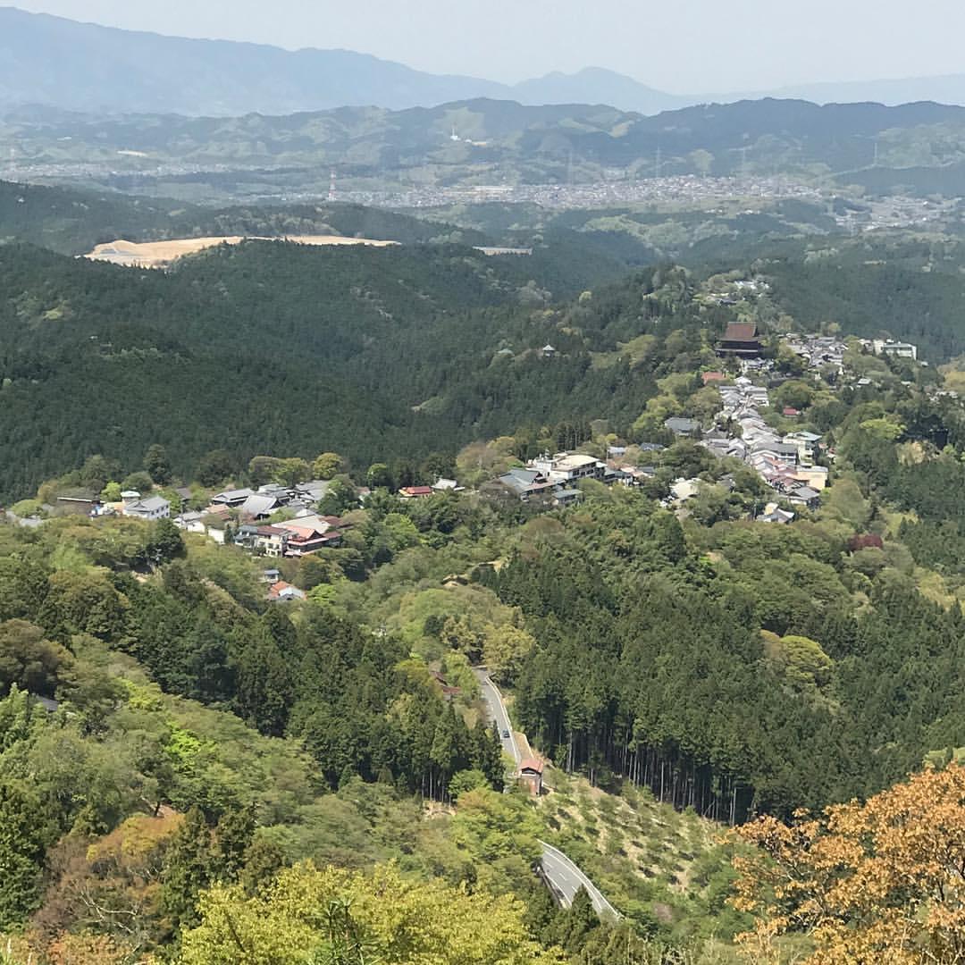 金峯山寺周辺