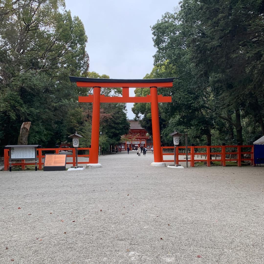 下鴨神社の鳥居