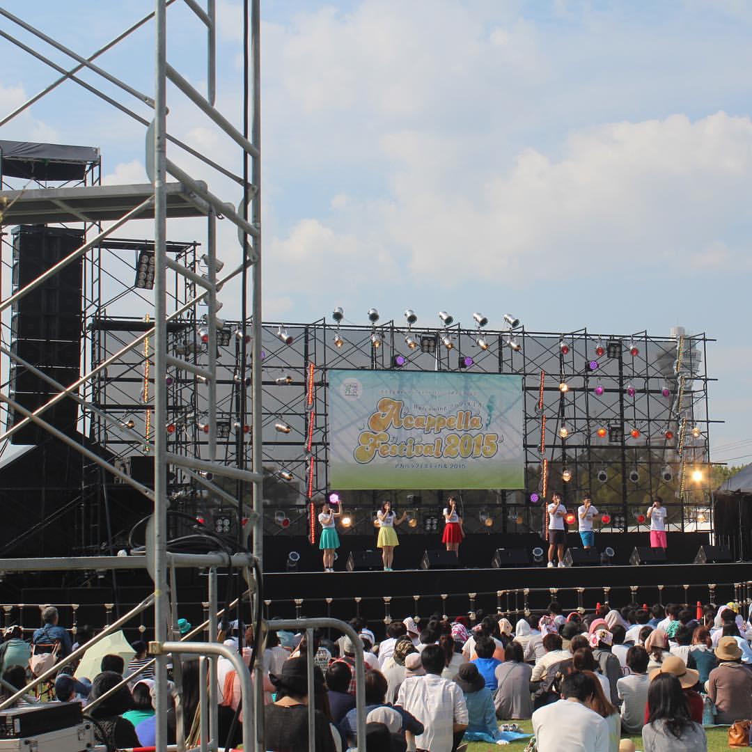アカペラのコンサート