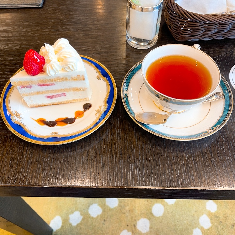 カフェ・ブリエヴェールのケーキセット