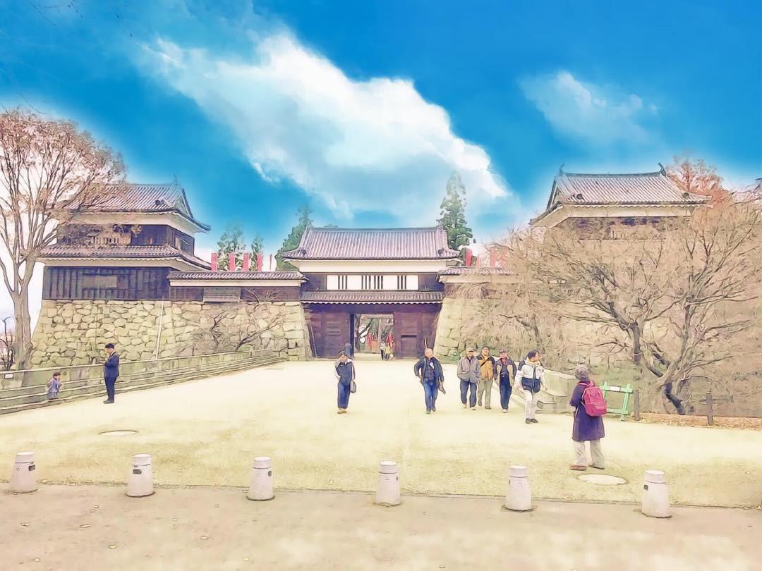 上田城の東虎口櫓門
