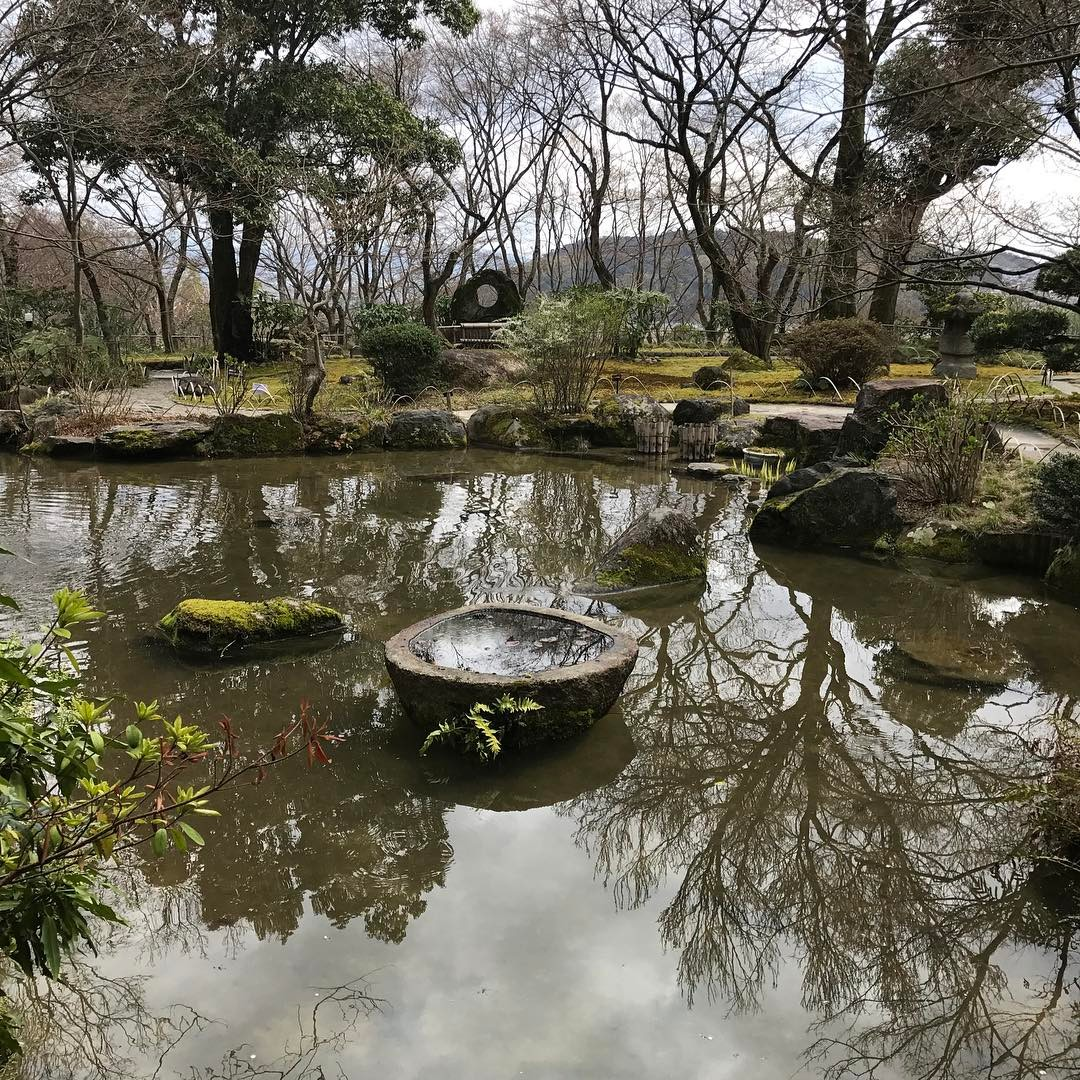 山荘内の庭園その2