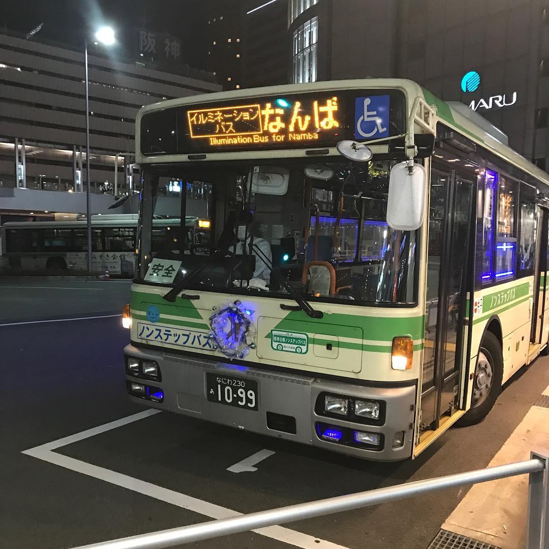 イルミネーションバス
