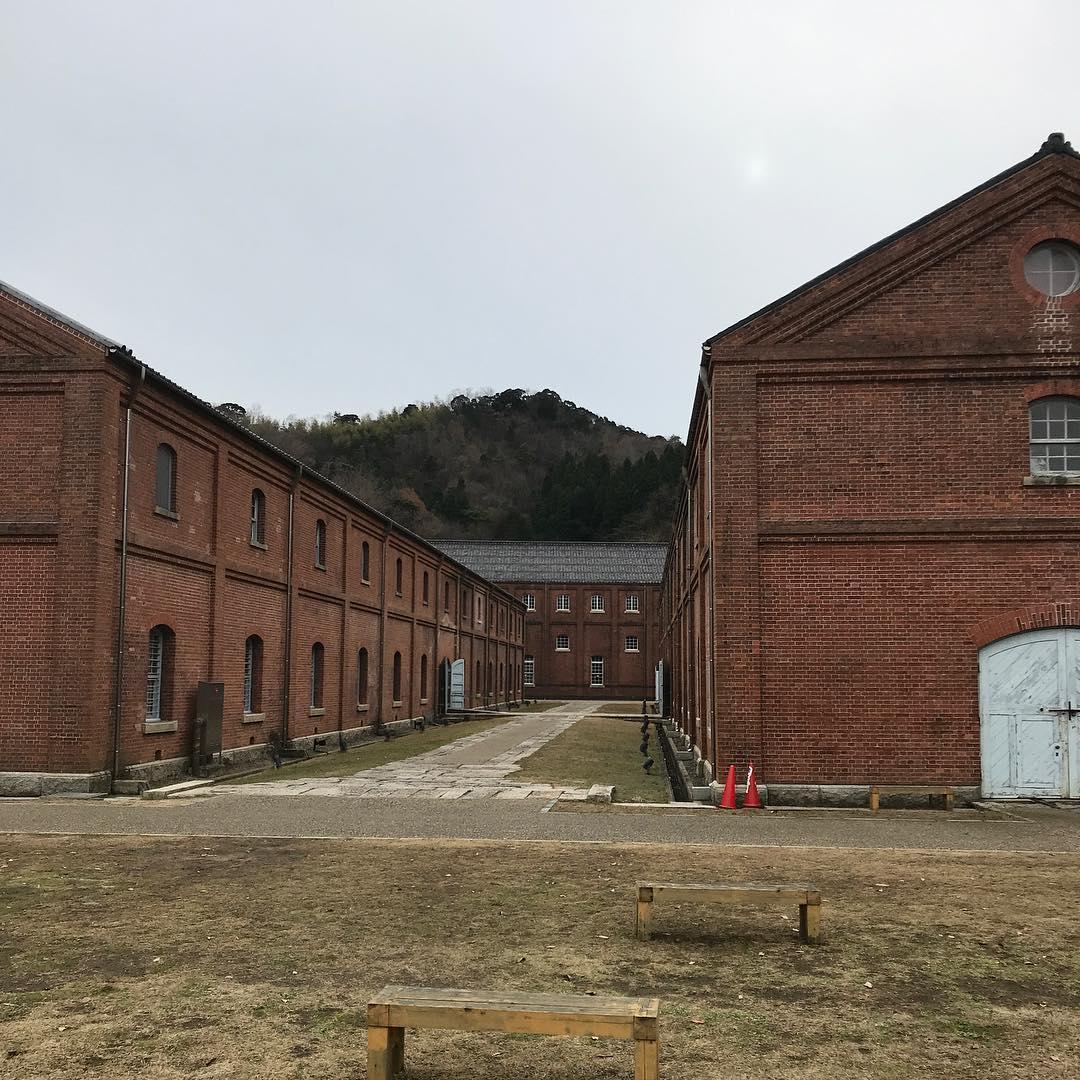 旧海軍の赤レンガ倉庫