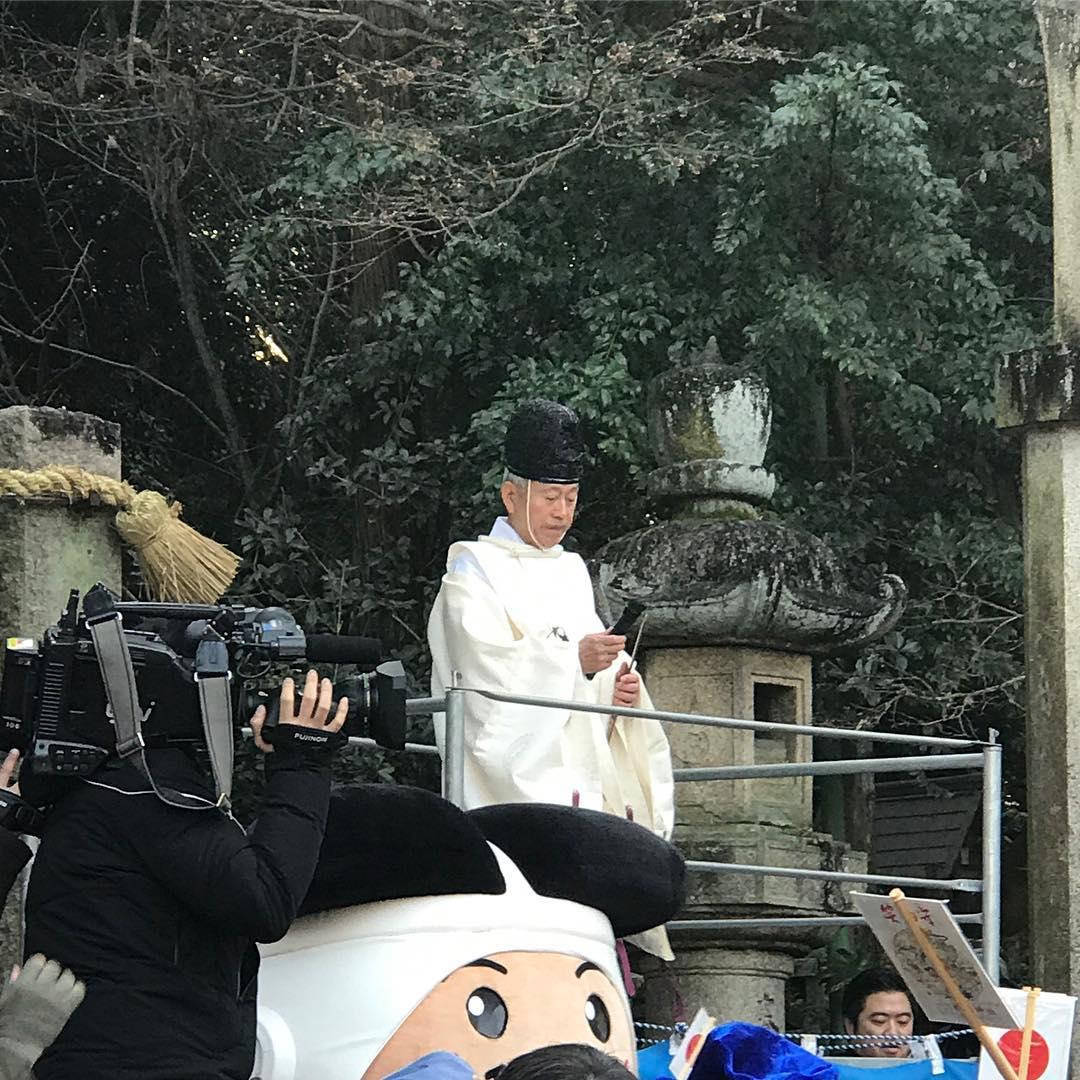 宮司さんの講話