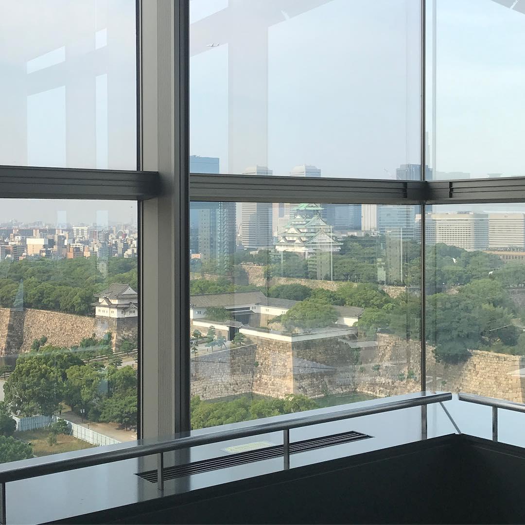 大阪城の全景