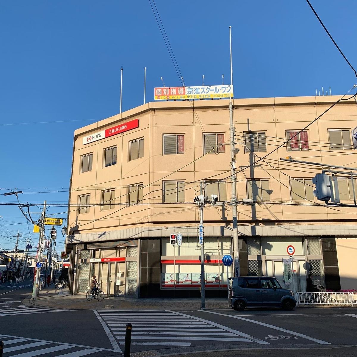 三菱UFJ銀行鴻池新田支店