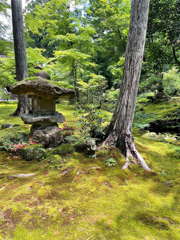京都大原三千院のわらべ地蔵