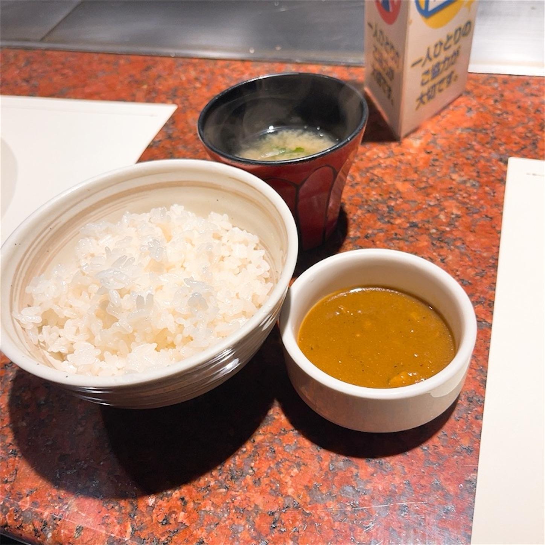 ご飯・味噌汁・カレー