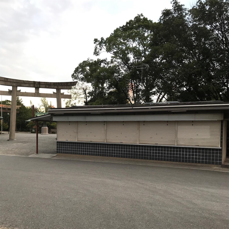 3年前の豊国神社