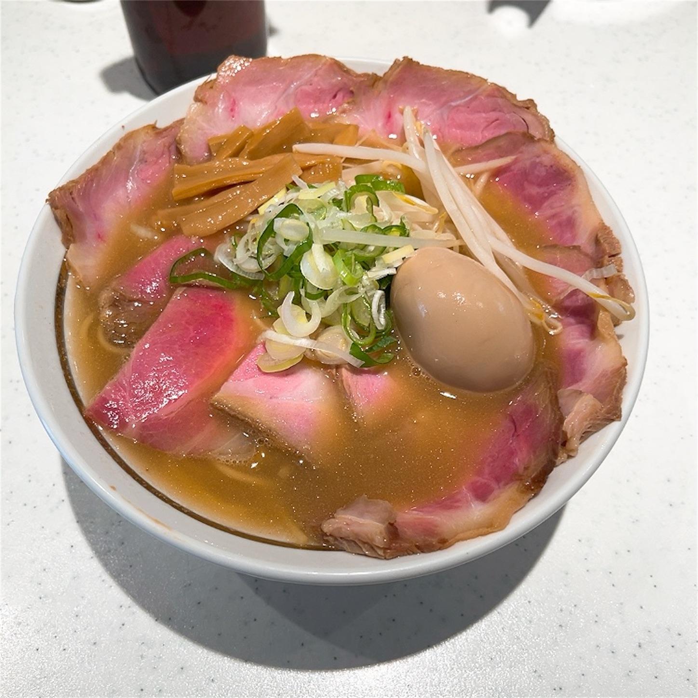弥五郎ラーメンの鶏豚こいくち正油味