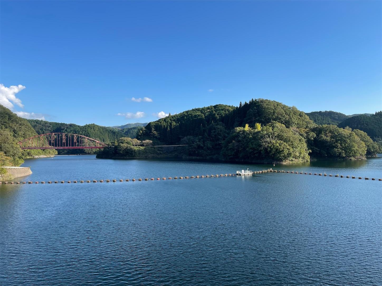 青蓮寺湖2