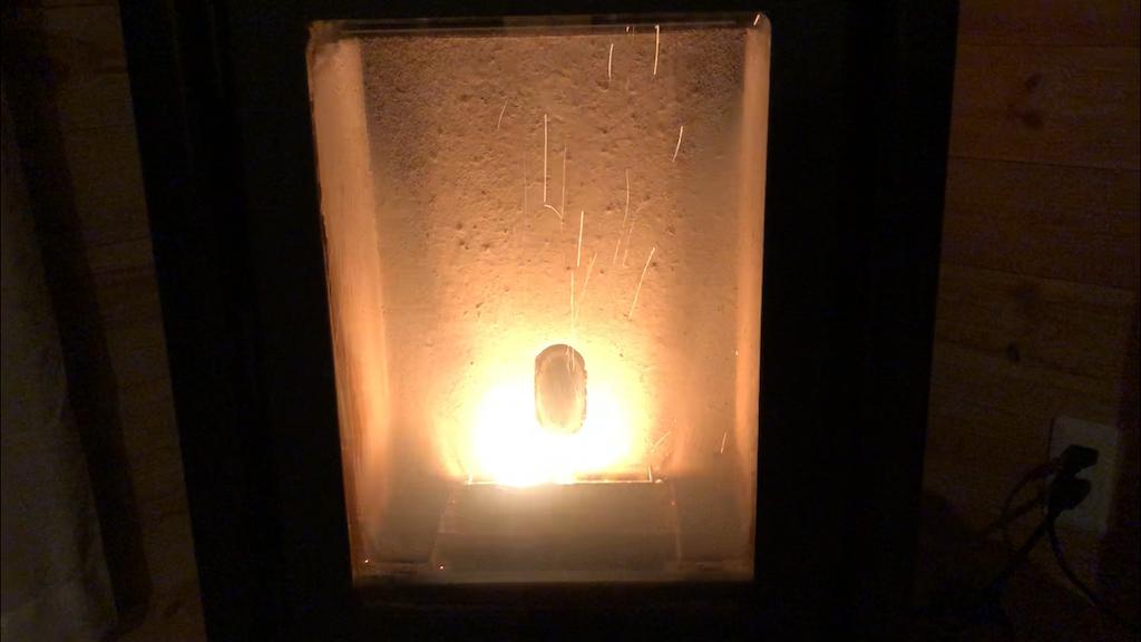 エコティPS302の炎