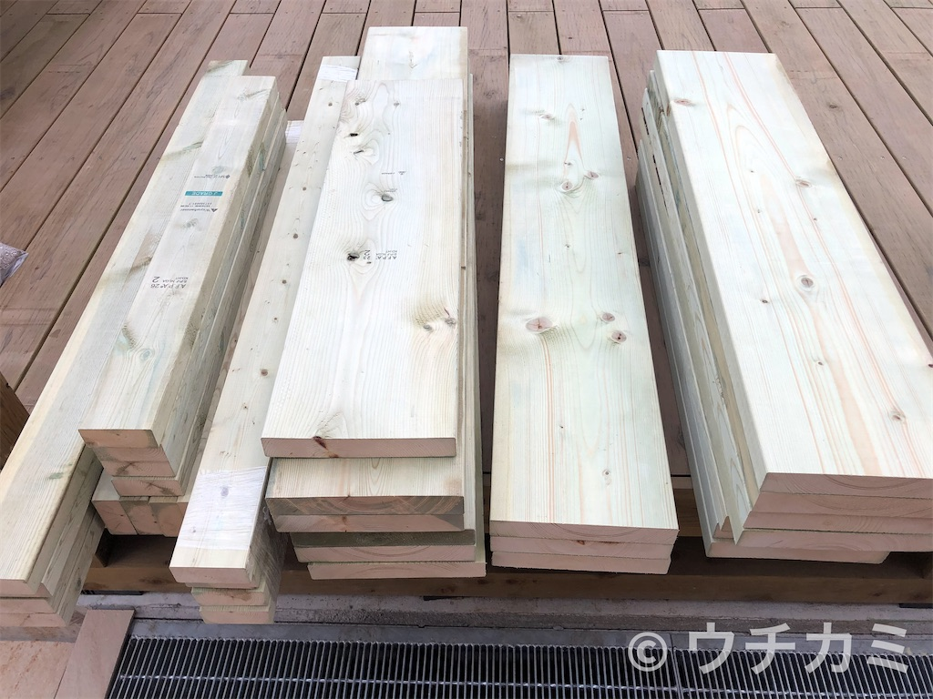 レイズドベッドの材料