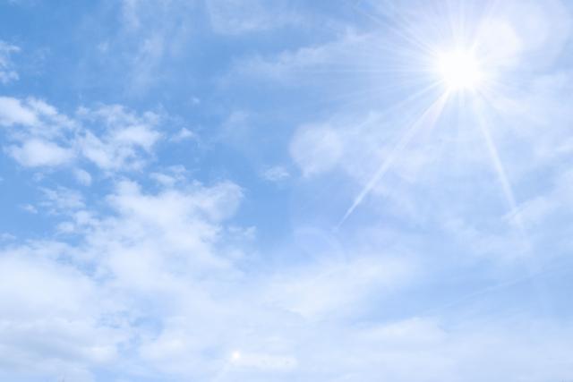 夏の空の画像です