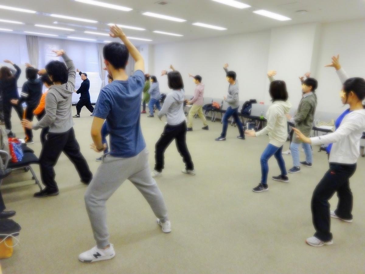 健康の為の太極拳の練習