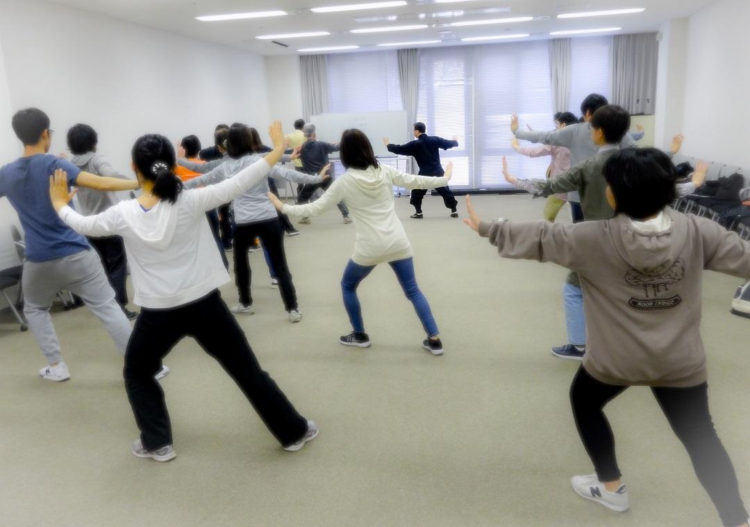 立命館での太極拳体験講座