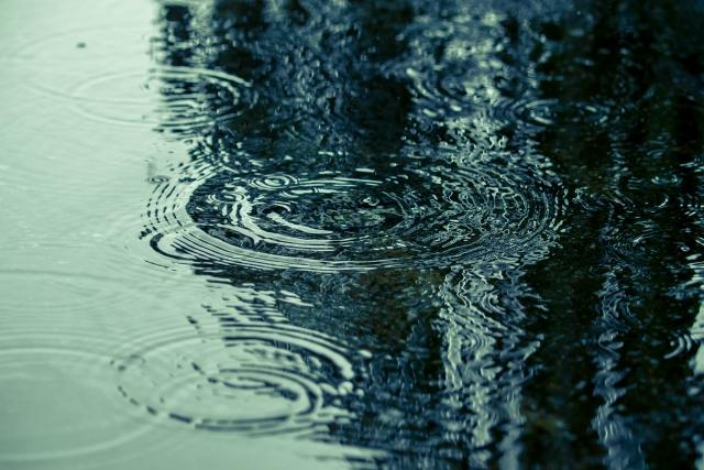 雨=不健康にならないように、困らないように