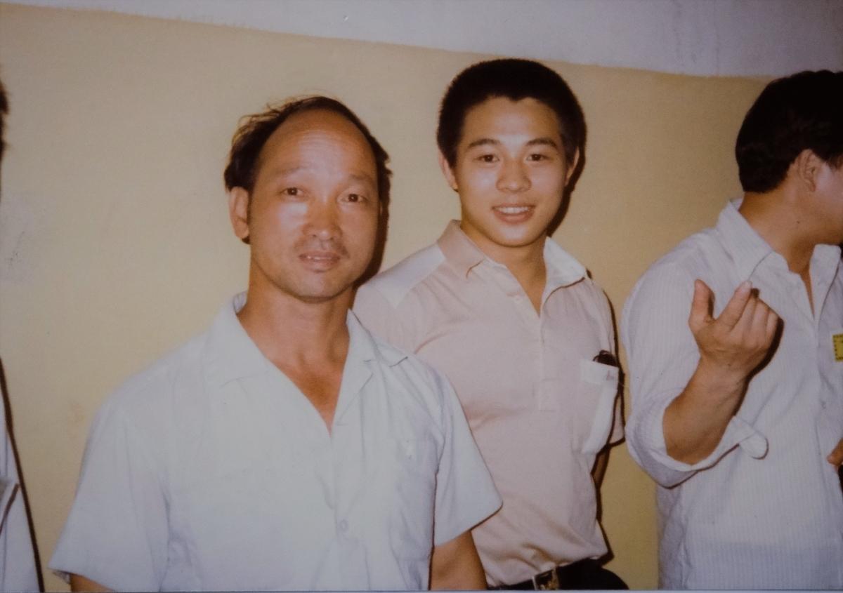 徐其成とアクション俳優ジェット・リー