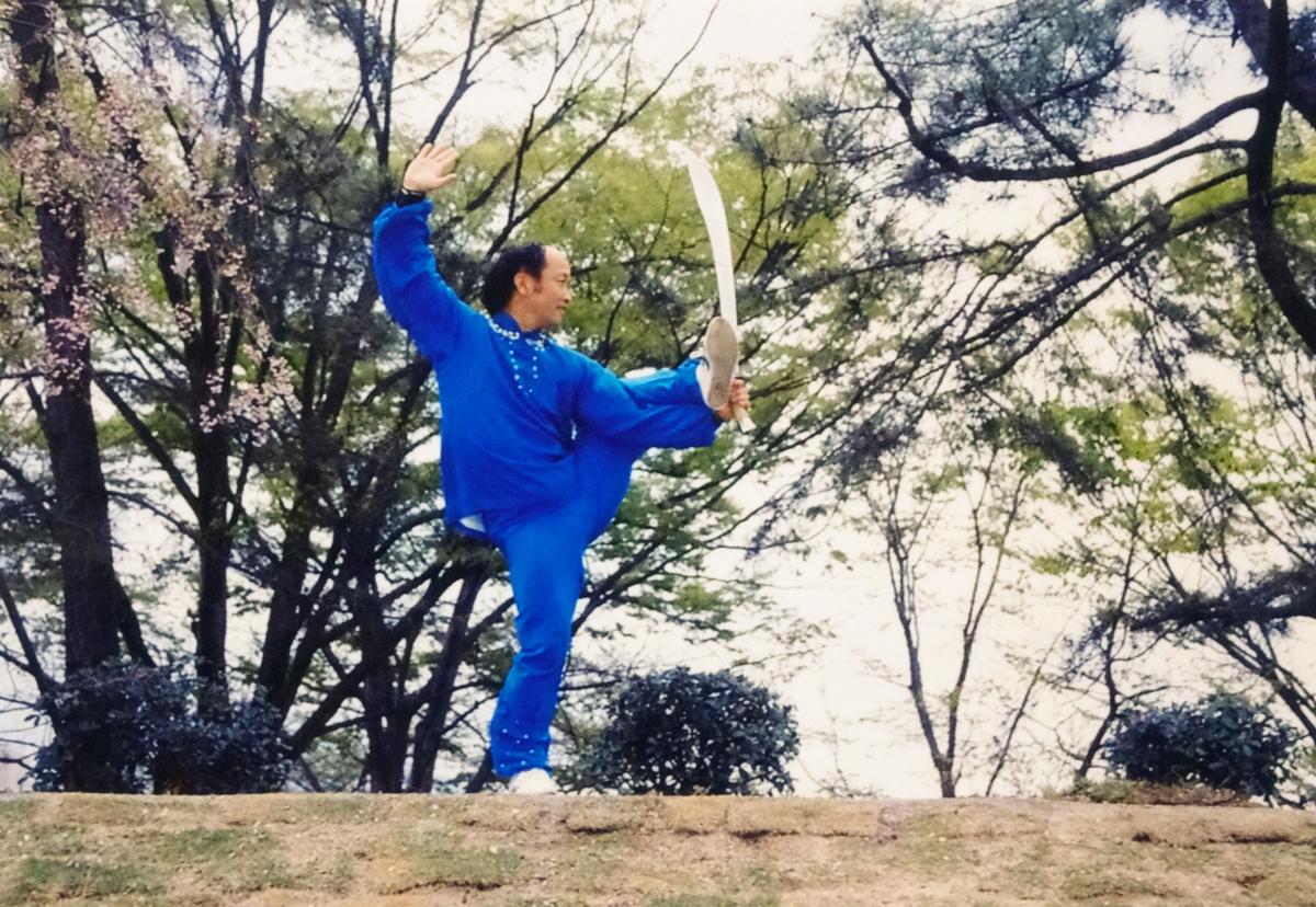 中国武術家、徐其成(ジョ・キセイ)