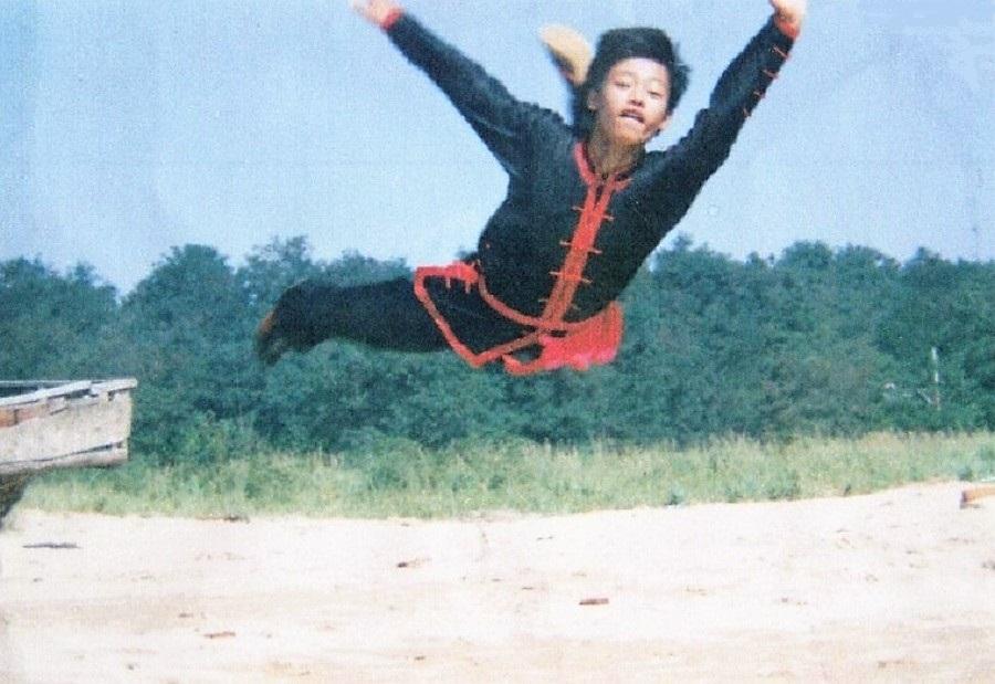 徐言平、中国武術ジャンプ