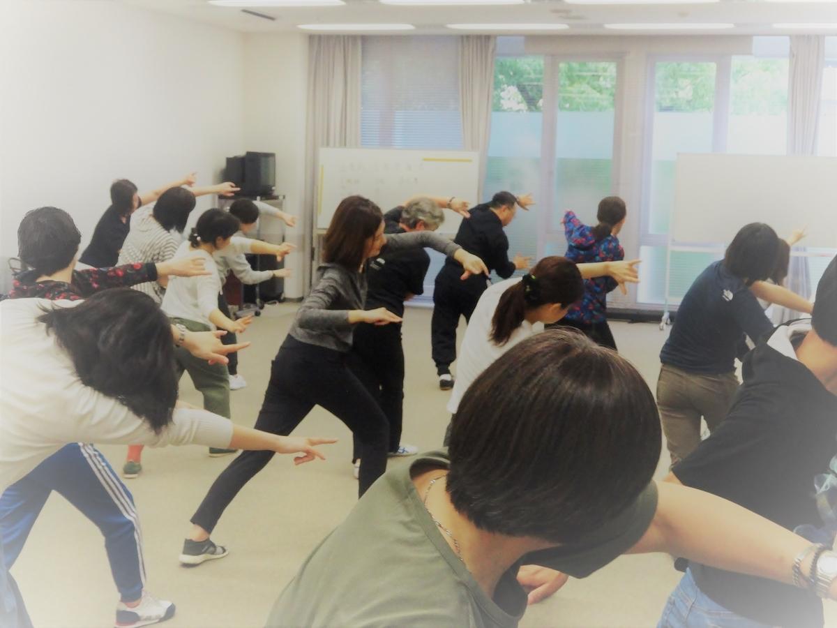 中国式健康体操・中国武術の健康体操について、徐言偉レッスン