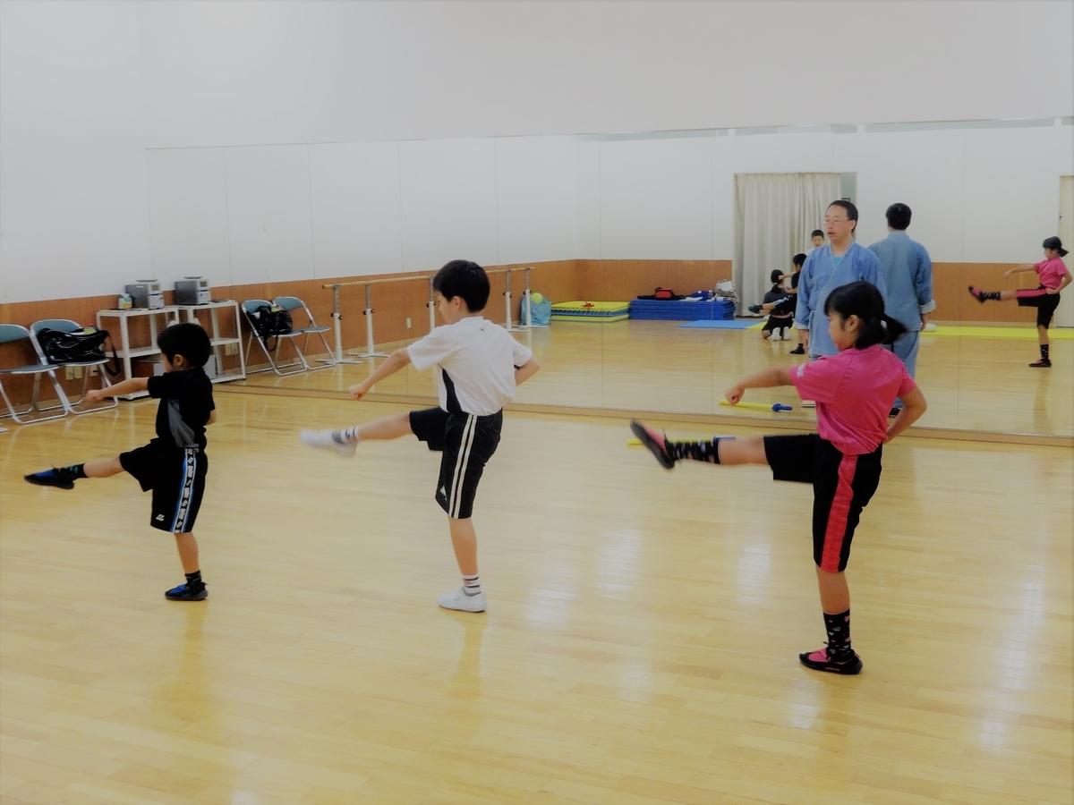 協調運動能力をカンフー・中国武術で高める、徐言偉ブログ