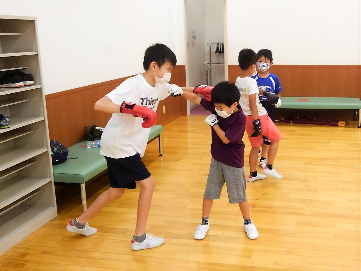 子供カンフー教室 楽しい練習