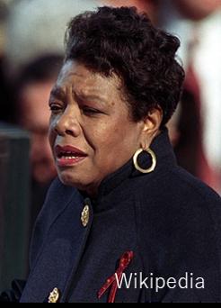 Maya Angelou, Wikipedia