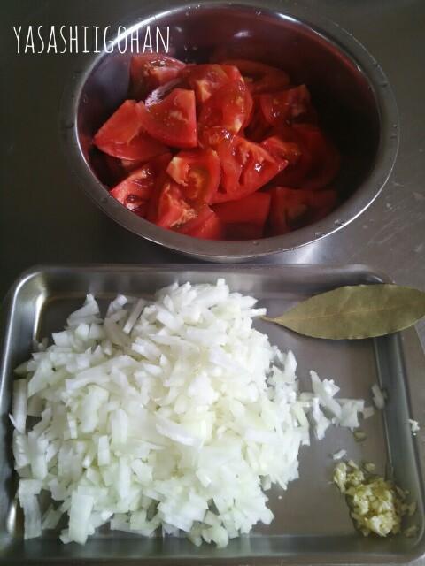 自家製トマトソース