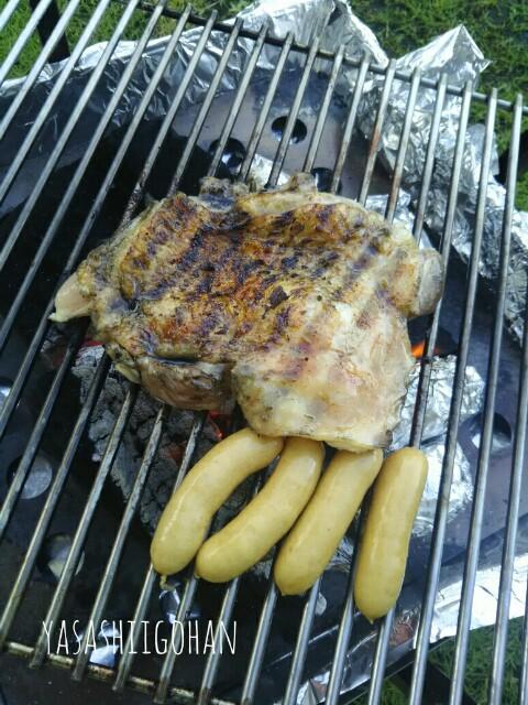 鶏モモ肉一枚焼き