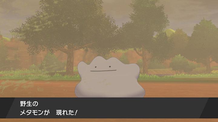 ポケモン剣盾 メタモン