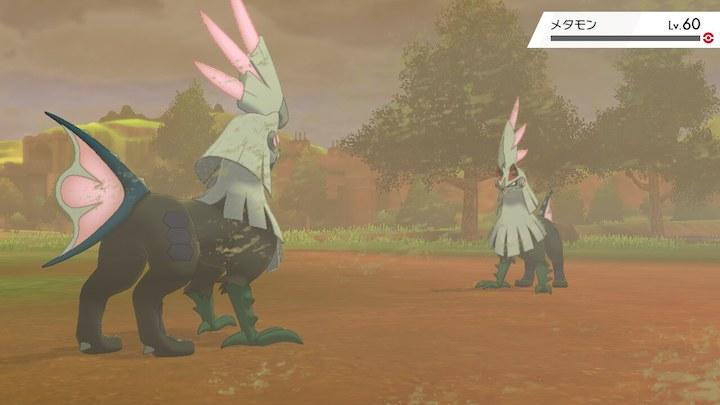 ポケモン剣盾 シルヴァディ vs メタモン