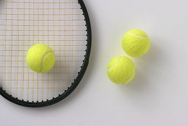 安井政昭 テニス用品(ラケット・ボール)フォトグラフ