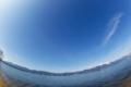 京都新聞写真コンテスト 冬晴れの琵琶湖大橋と比良山系