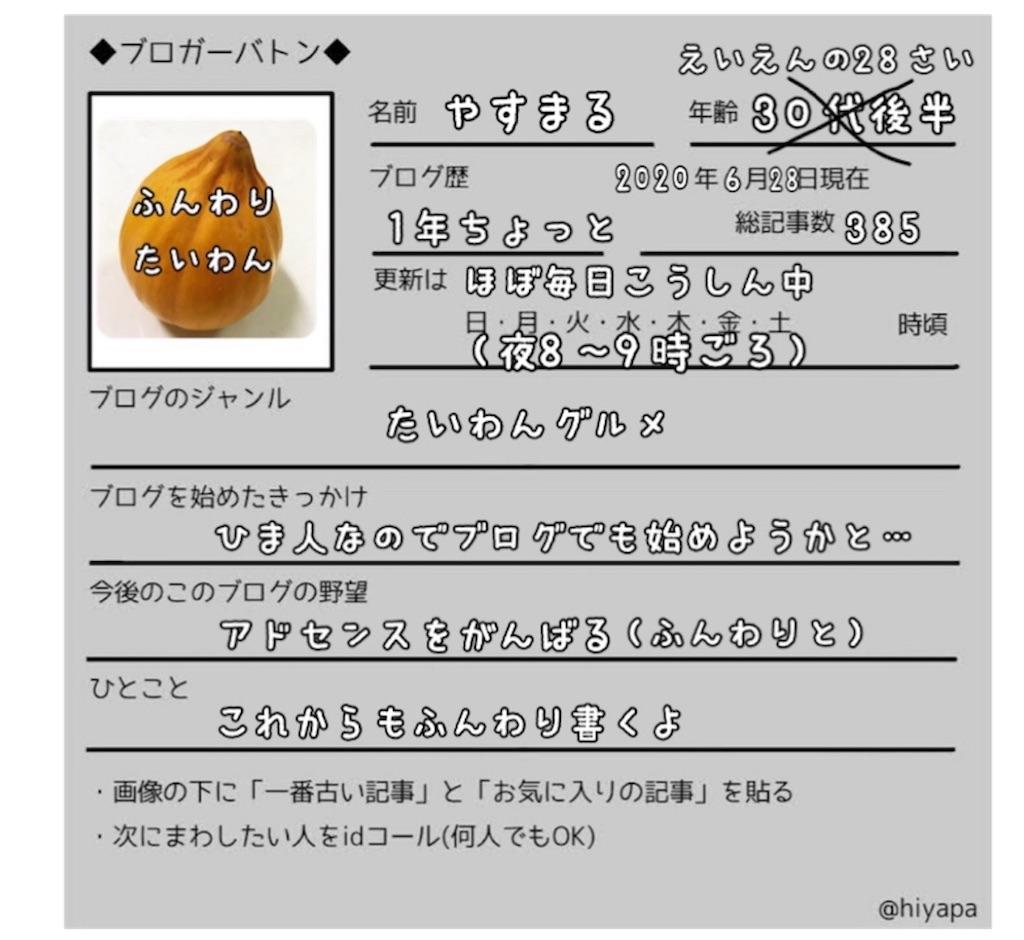 f:id:yasumarutaiwan:20210719174421j:plain