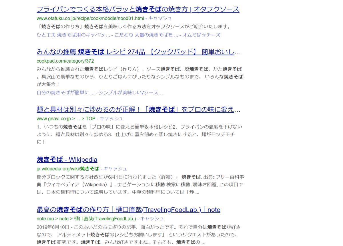 検索上位のサイト