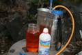 石灰硫黄合剤の散布(22.3.15)