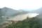 ロープウェイからの「榛名湖」。(22.7.10)