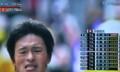 逃げる、早稲田大学の中島選手。(23.1.3)